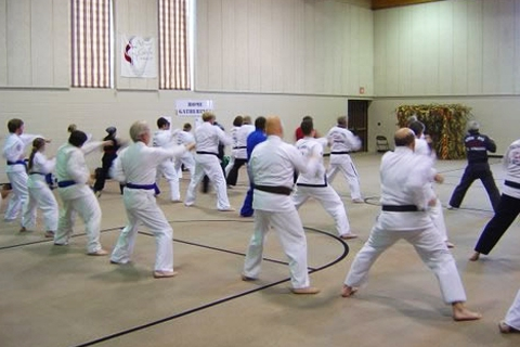 Warm Up at the 2007 Sioux Falls South Dakota Clinic